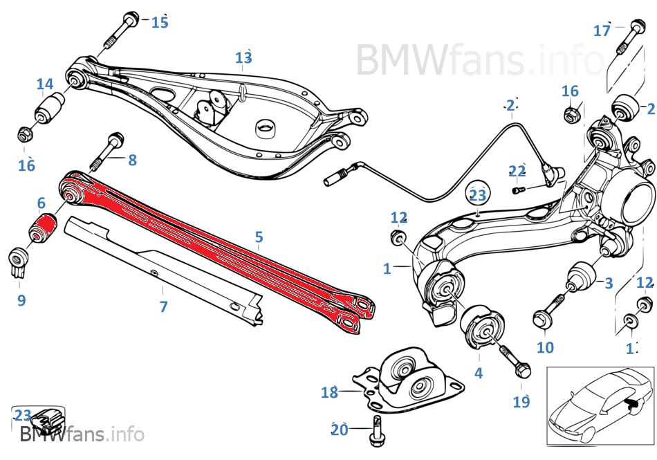 Uniball Querlenker Streben Hinten Unten Bmw M3 E36 E46 Z4 Bmw Motorsportteile
