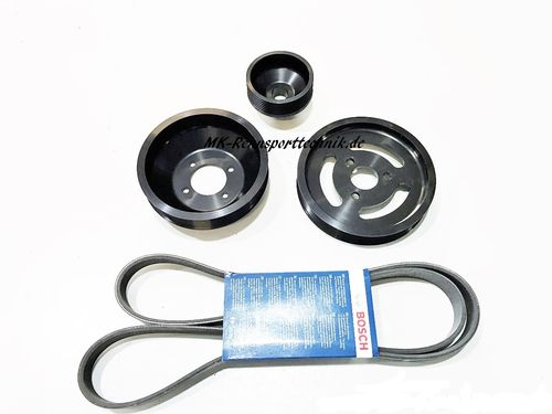Lightweight Racing Pulley Kit M3 e46 with S54 engine